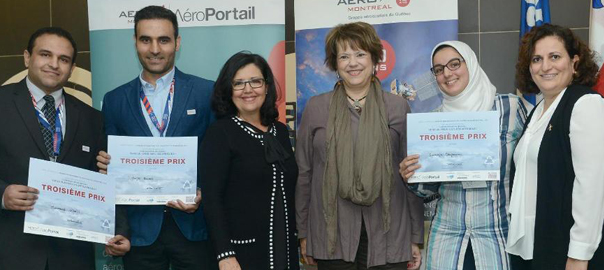 Pearl Members Takes Third Place in Aero Montréal Recycling Competition